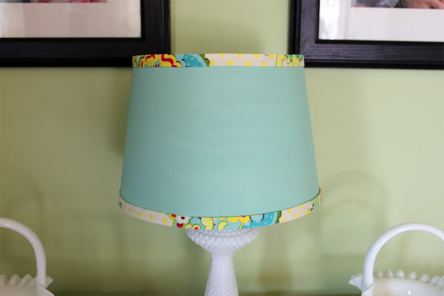 Lamp shades theres no place like homemade pillows and a lamp shade aloadofball Gallery