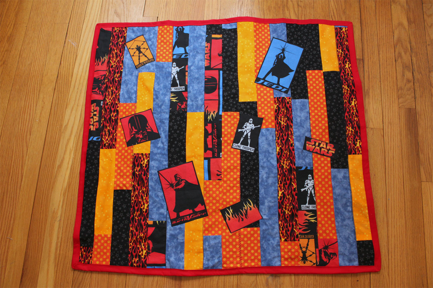 May the Force be with Baby: A Star Wars Quilt There s no place like homemade