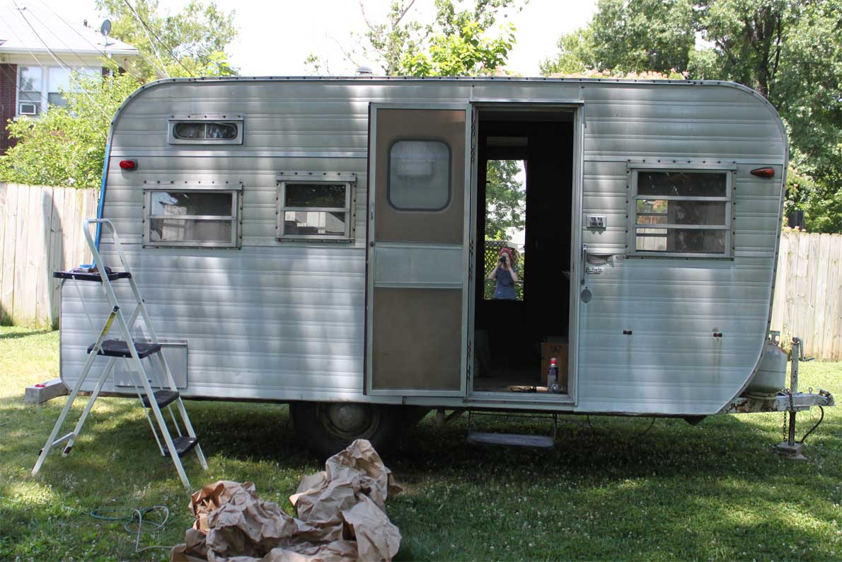 Vintage Camper There S No Place Like Homemade