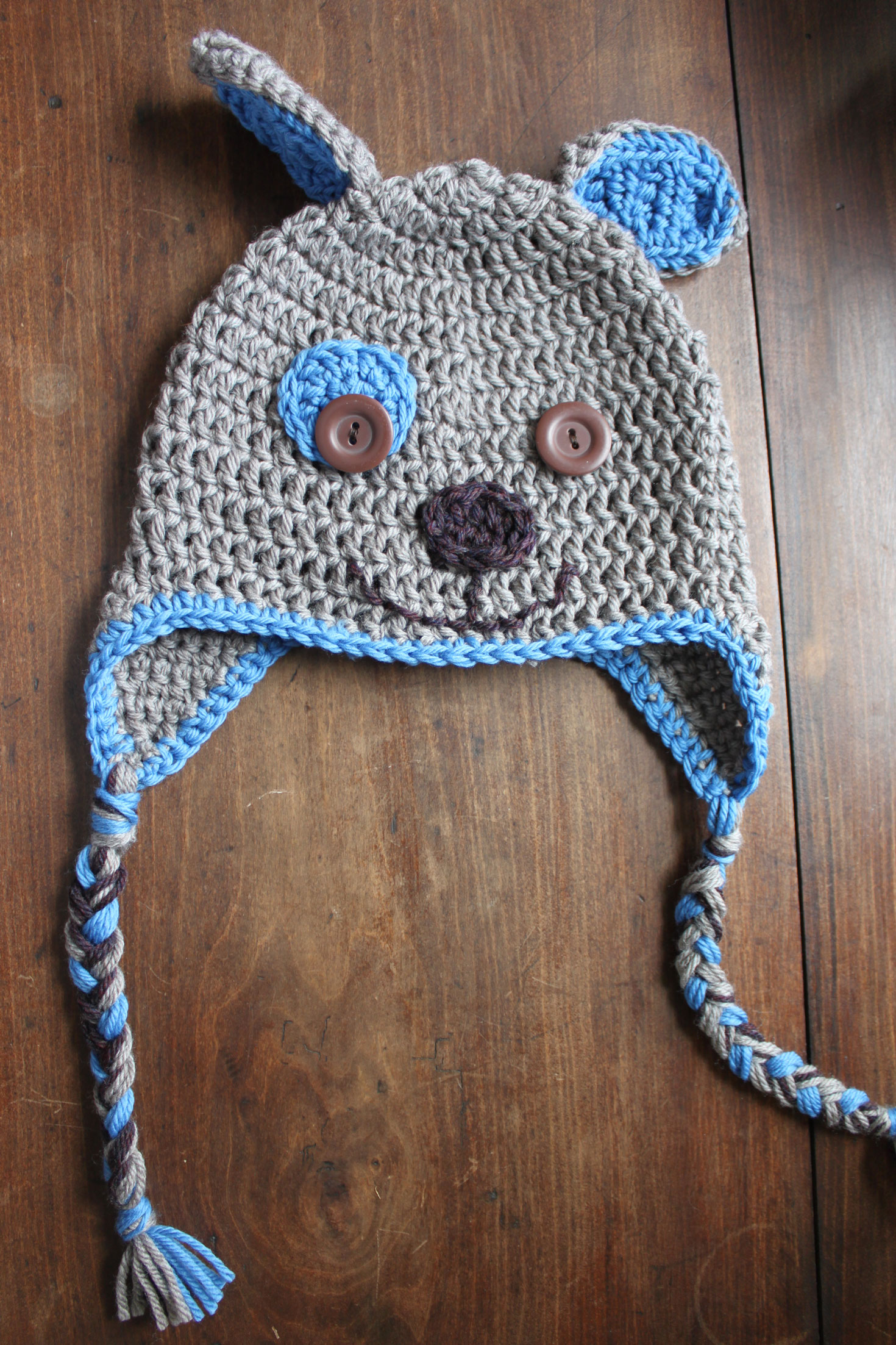 Crochet for boys theres no place like homemade puppy hat bankloansurffo Gallery