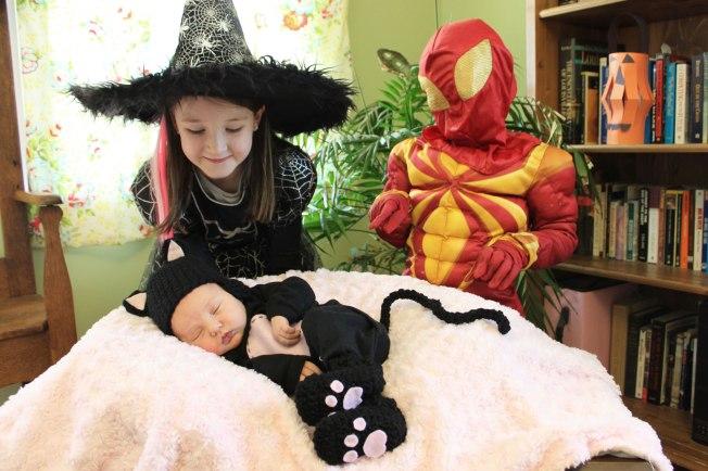 witch-cat-spiderman
